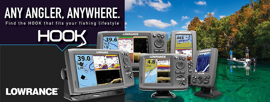 Lowrance HOOK banner