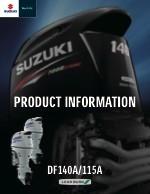 Suzuki DF140A tooteinfo (ENG)