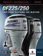 Suzuki DF225 tooteinfo (ENG)