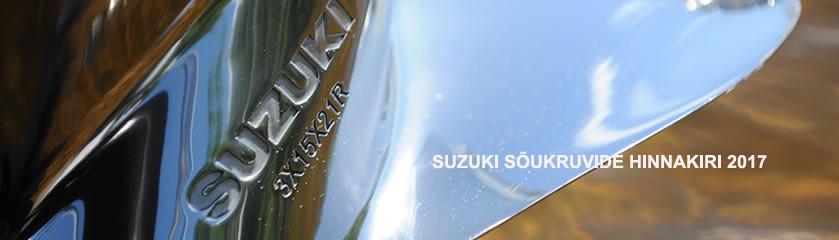 Suzuki sõukruvide hinnakiri